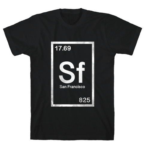 Periodic San Francisco  Mens T-Shirt
