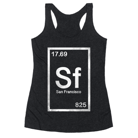 Periodic San Francisco  Racerback Tank Top