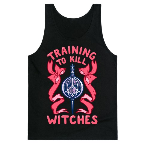 Training To Kill Witches Tank Top