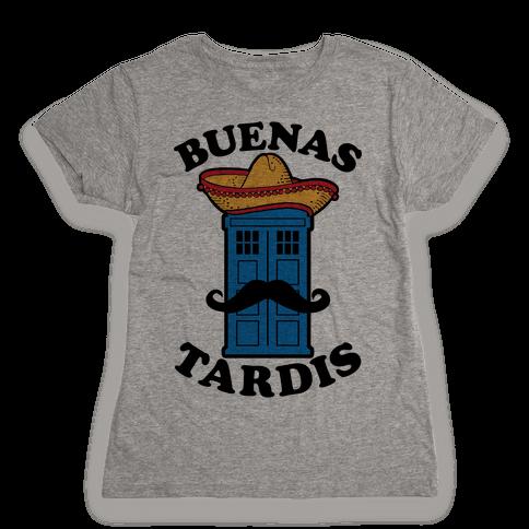 Buenas Tardis Womens T-Shirt