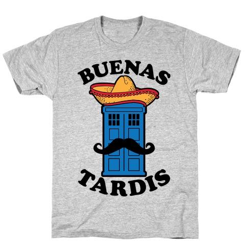 Buenas Tardis Mens T-Shirt
