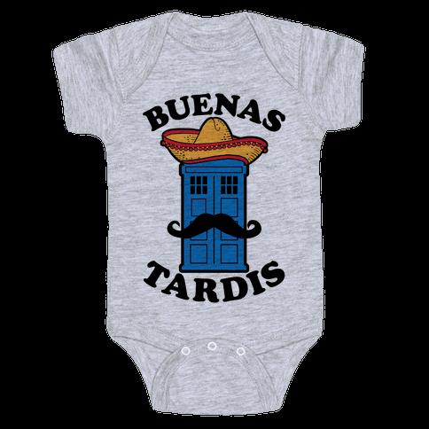 Buenas Tardis Baby One-Piece