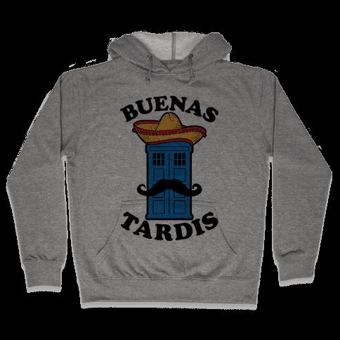 Buenas Tardis Hooded Sweatshirt