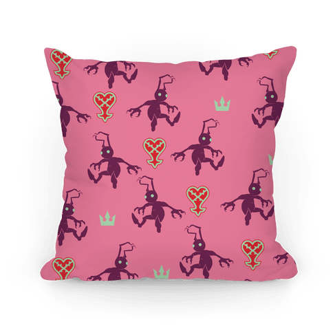 Heartless Pattern Pillow