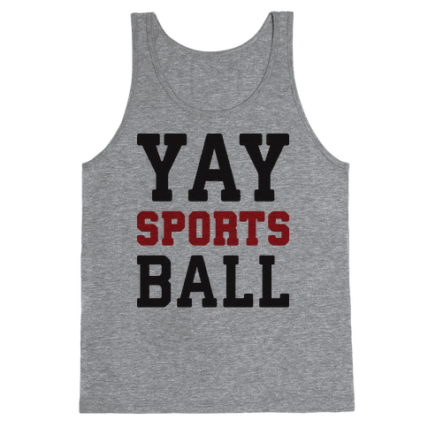 Yay Sports Ball Tank Top
