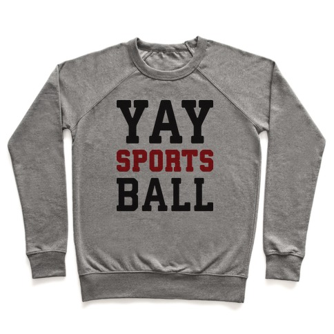 Yay Sports Ball Pullover