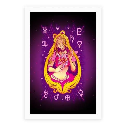 Saint Moon Poster