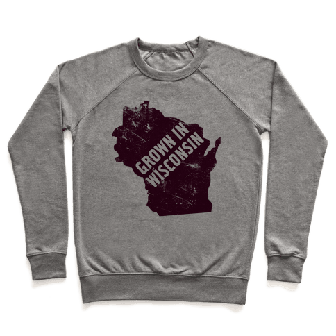 Grown in Wisconsin Pullover