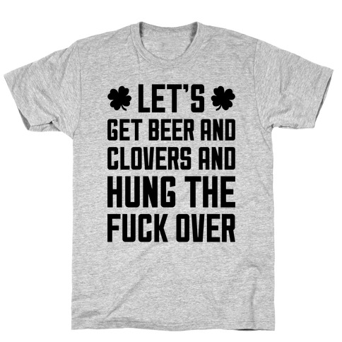 Beer And Clovers T-Shirt