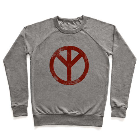 Reversed Peace Sign (Vintage) Pullover