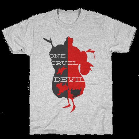 One Cruel Devil Mens T-Shirt