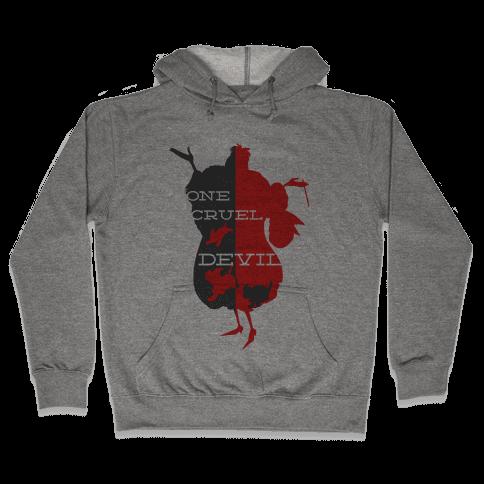 One Cruel Devil Hooded Sweatshirt