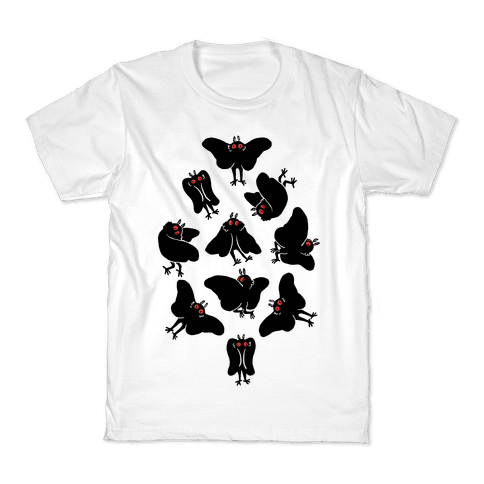 Cute Mothman Club Kids T-Shirt