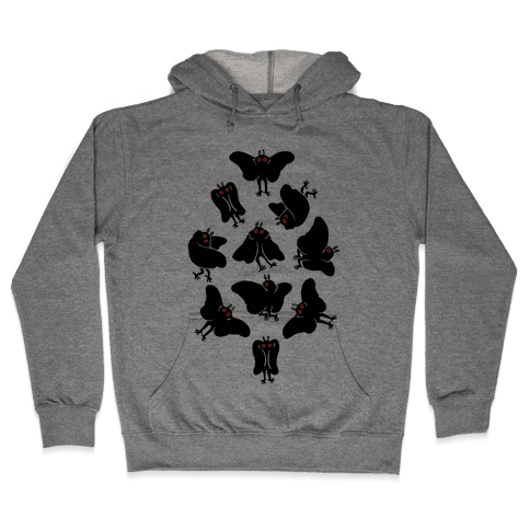 Cute Mothman Club Hooded Sweatshirt