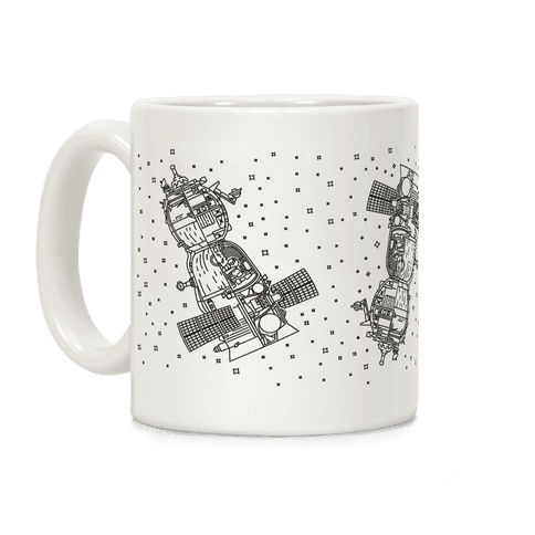 Soyuz-TMA Cross Section Coffee Mug