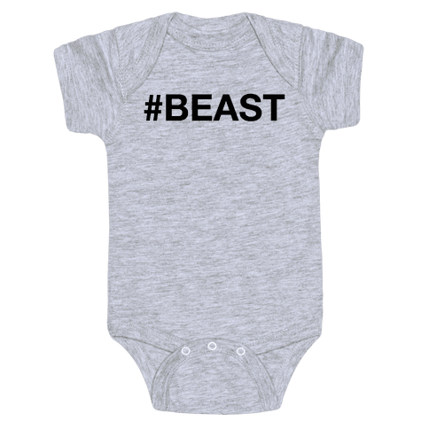 # BEAST Baby Onesy