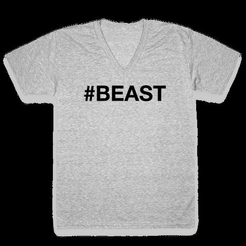# BEAST V-Neck Tee Shirt