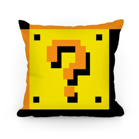 Question Block Pillow