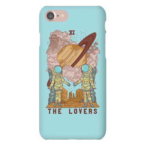 The Lovers in Space Phone Case
