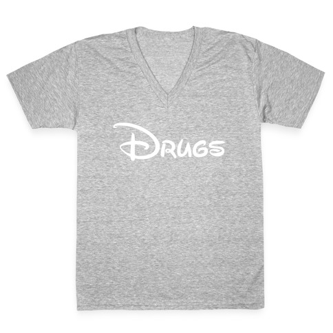 DISNEY MAGIC V-Neck Tee Shirt