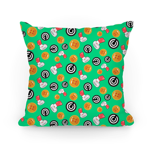 Dragonball Pattern Pillow