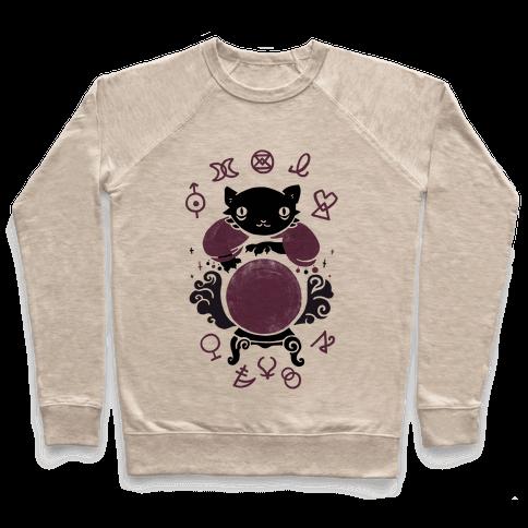 Lucky Tarot Cat #13 Pullover