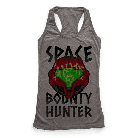 Space Bounty Hunter Racerback Tank Top