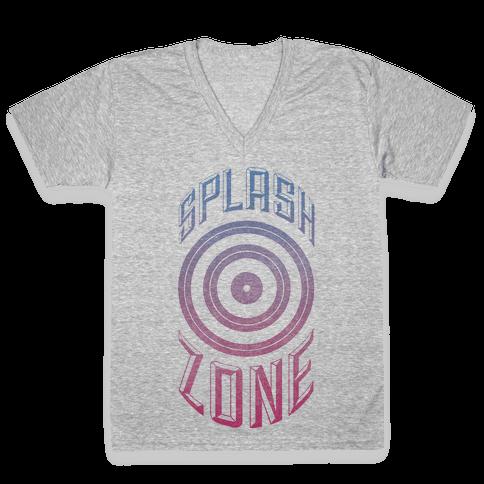 Splash Zone V-Neck Tee Shirt