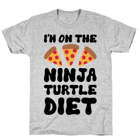 I'm On The Ninja Turtle Diet T-Shirt