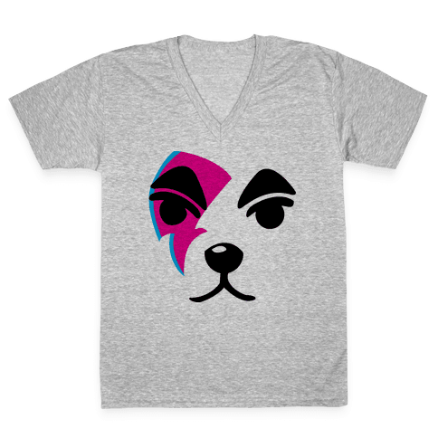 Ziggy Slider V-Neck Tee Shirt