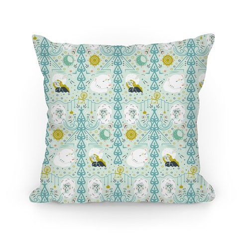 East of the Sun & West of the Moon Pillow