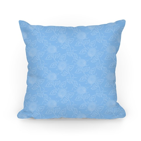 Simple Blue Floral Pattern