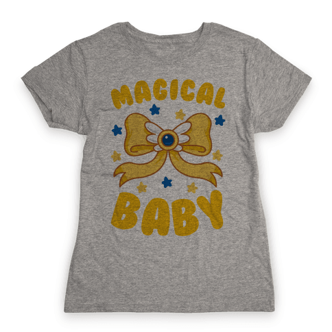 Magical Baby (Gold) Womens T-Shirt