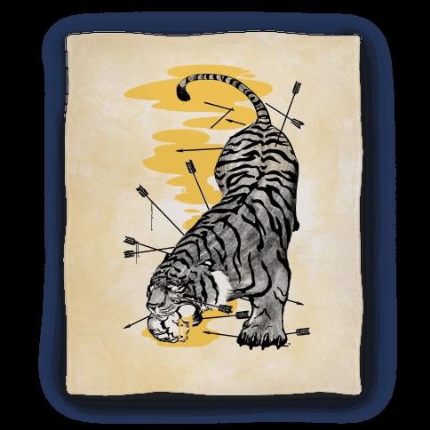 Wild Tiger Blanket