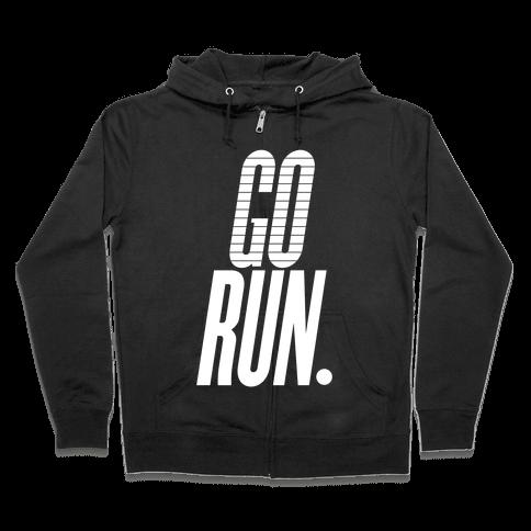 Go Run Zip Hoodie