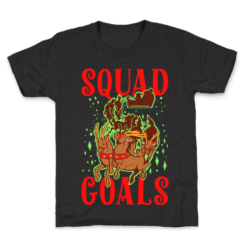 Squad Goals Kids T-Shirt