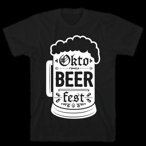 Okto-BEER-fest Mens T-Shirt
