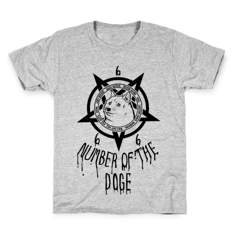 Number of The Doge Kids T-Shirt