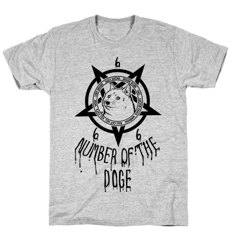 Number of The Doge T-Shirt
