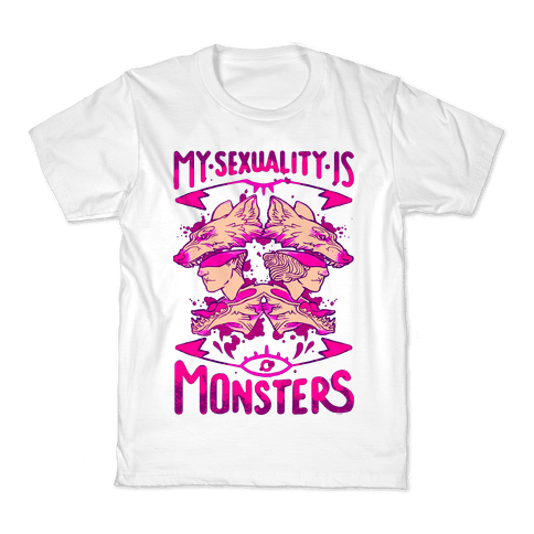 My Sexuality Is Monsters Kids T-Shirt