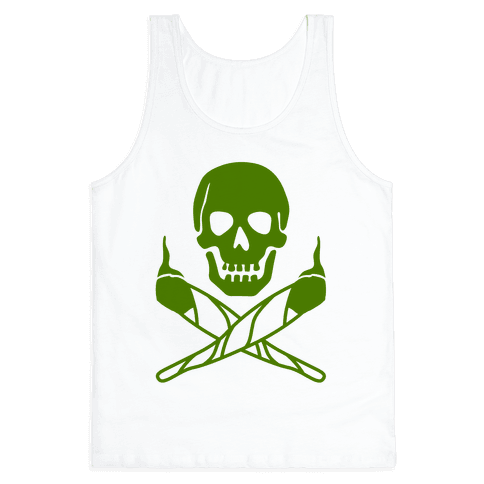 Stoned Jolly Roger Tank Top
