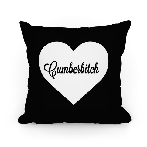 Cumberbitch Pillow