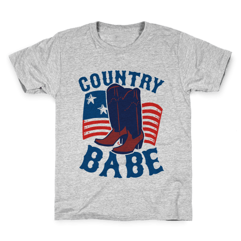 Country Babe Kids T-Shirt