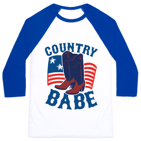 Country Babe Baseball Tee