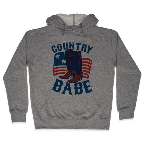 Country Babe Hooded Sweatshirt
