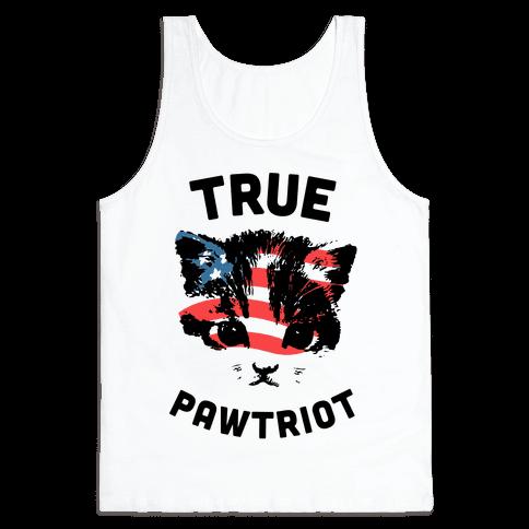 True Pawtriot Tank Top