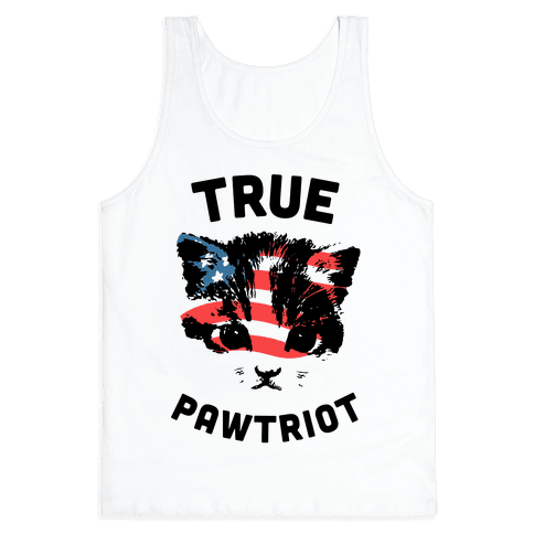 True Pawtriot Tank Top