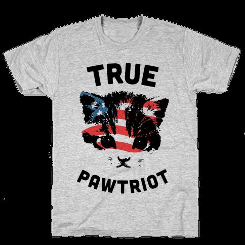 True Pawtriot Mens T-Shirt