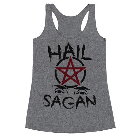 Hail Sagan Racerback Tank Top