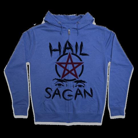 Hail Sagan Zip Hoodie